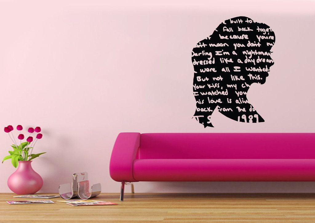 Taylor Swift Pop Art Wall Decal & Taylor Swift Pop Art Wall Decal | Room ideas | Pinterest | Art walls ...