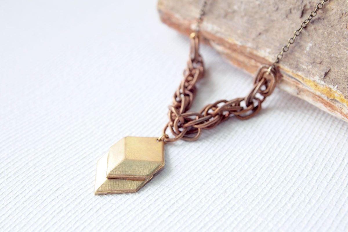 http://www.etsy.com/listing/102029288/geometric-necklace-autumn-jewelry-brass