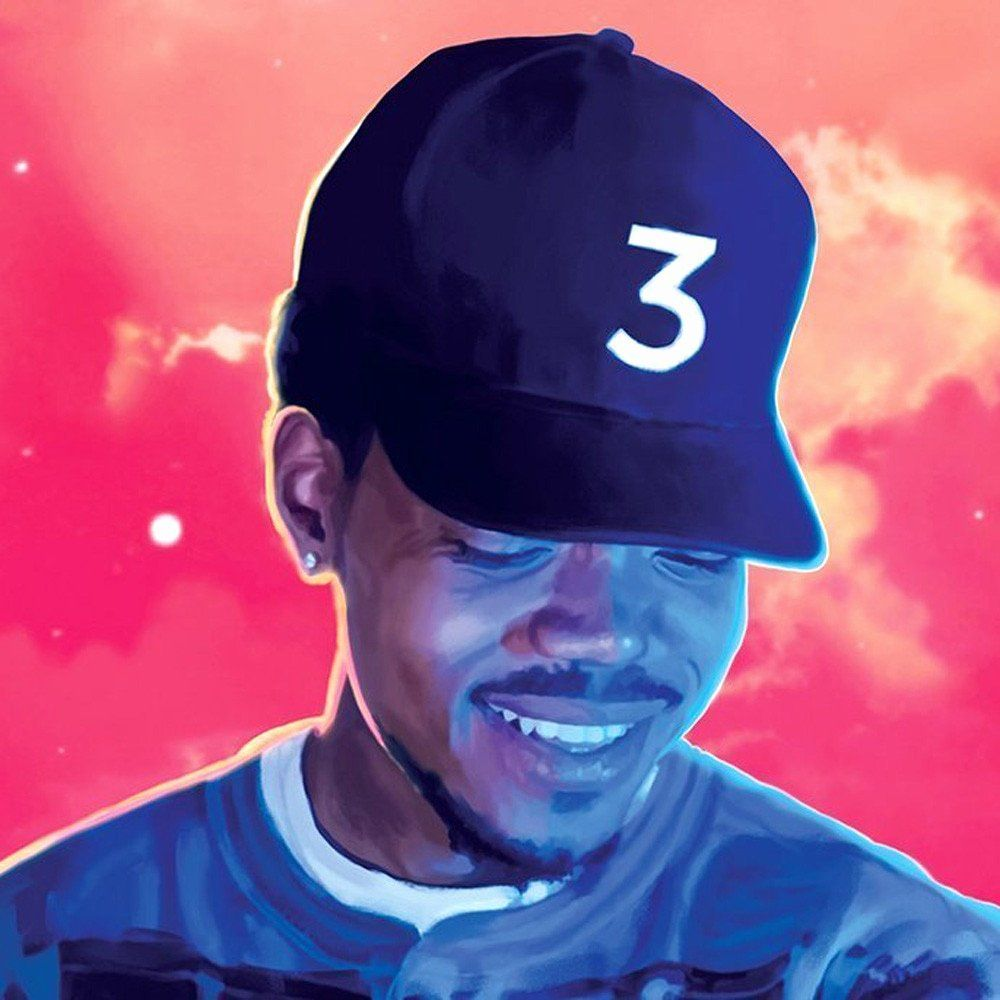 Coloring Book Chance The Rapper Download Lovely Poster Canvas Painting Chance The Rapper 24in X 36in
