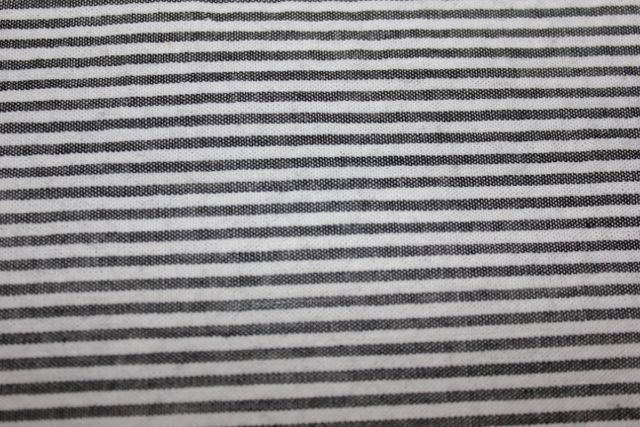 Apparel Fabric Black White Striped 100 Cotton Seersucker Sewing