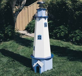 solar powered lighthouse plans - Amish Lighthouse Plans
