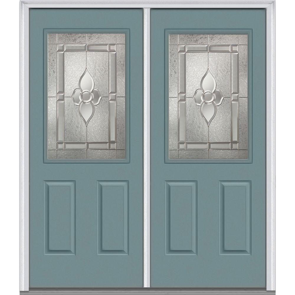 MMI Door 72 in. x 80 in. Master Nouveau Left-Hand Inswing 1/…