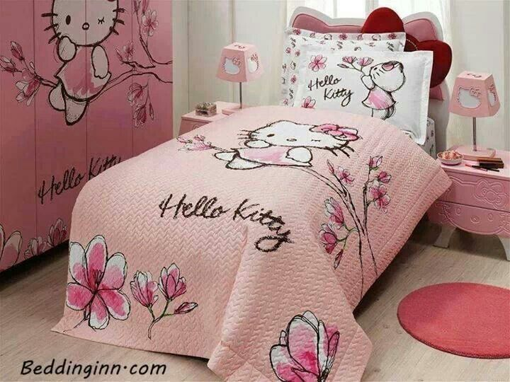 Adorable Toddler Girl Bedroom Hello Kitty Bedroom Hello Kitty Bed