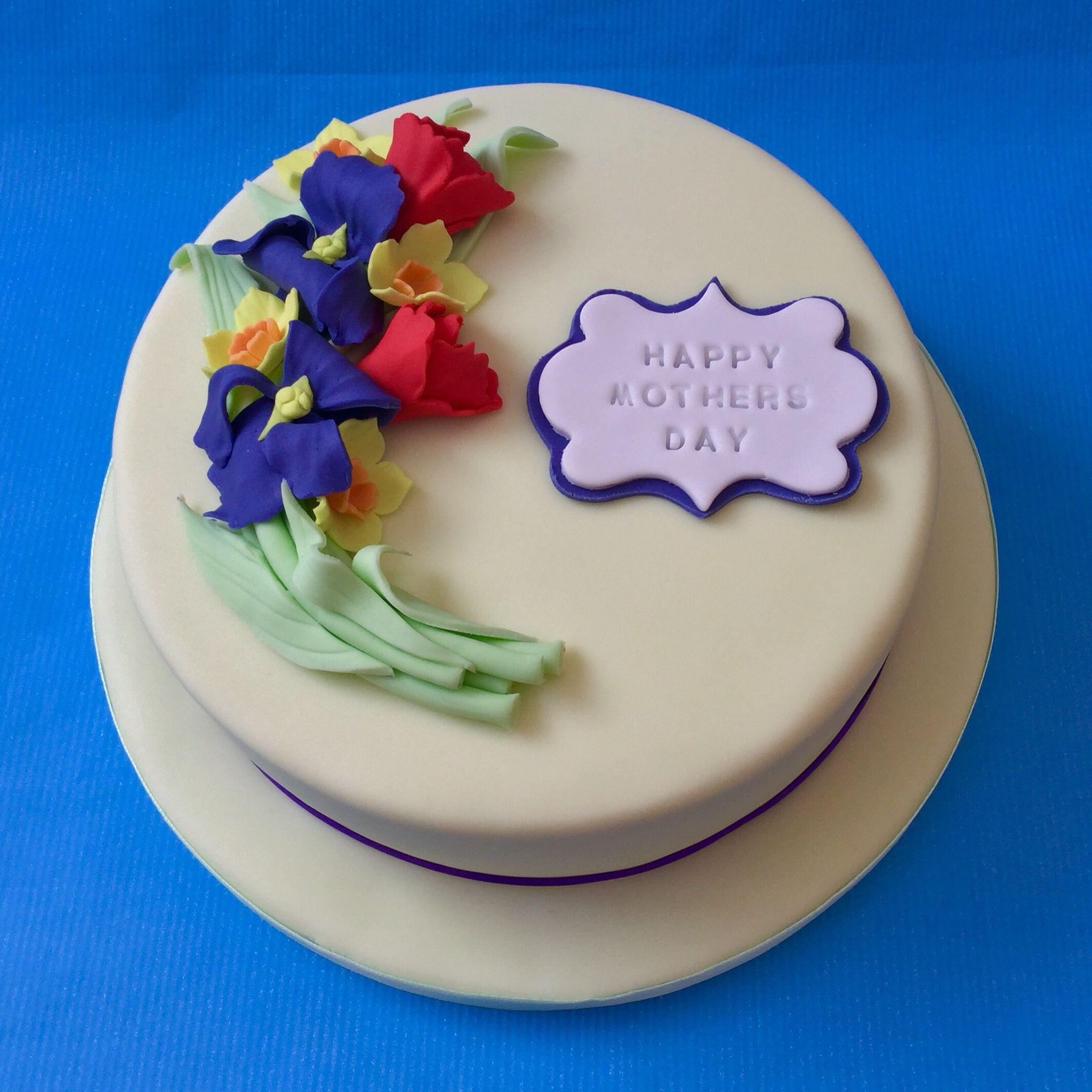 Spring Flowers Cake Cakes I Have Made Pinterest Spring Flower