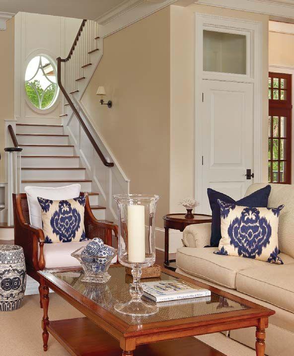 Interior Of Kiawah Island Home Featured In Charleston