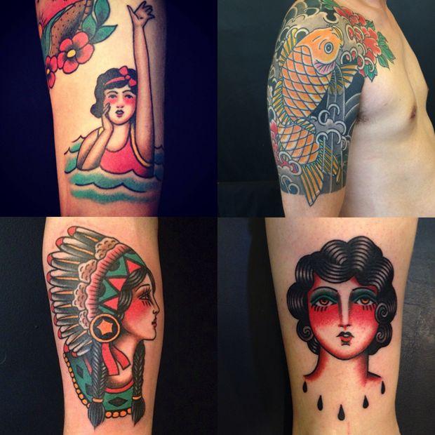 #tattoofriday - Edmar Santos do Estúdio Tattoo Ink em São Paulo;