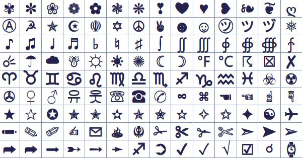 Facebook Symbols (ASCII + Unicode) | Posters, Advertising