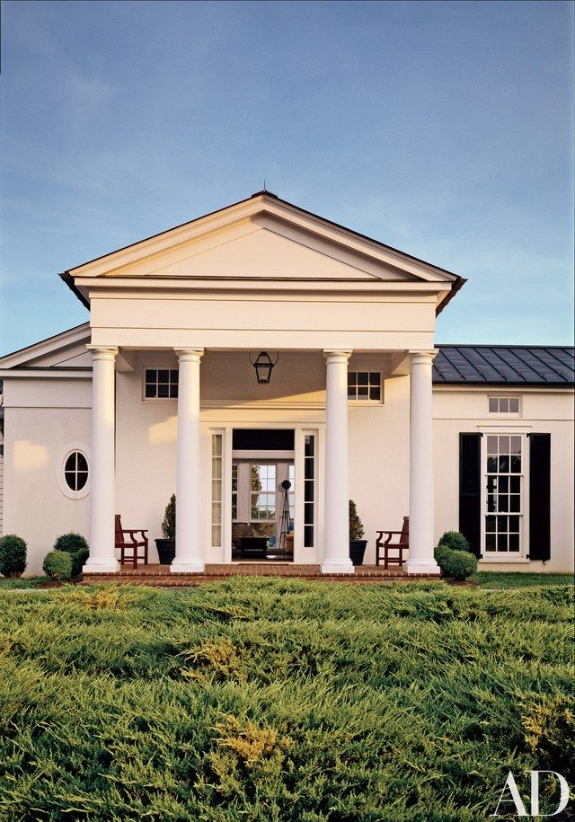 beautiful white houses that suit any style homes neoclassical rh pinterest com