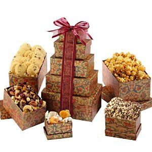 Broadway Basketeers Gourmet Gift Basket There Is No Better Way To Send Your Happy Birthday Wishes Than With This Tower Perfect For