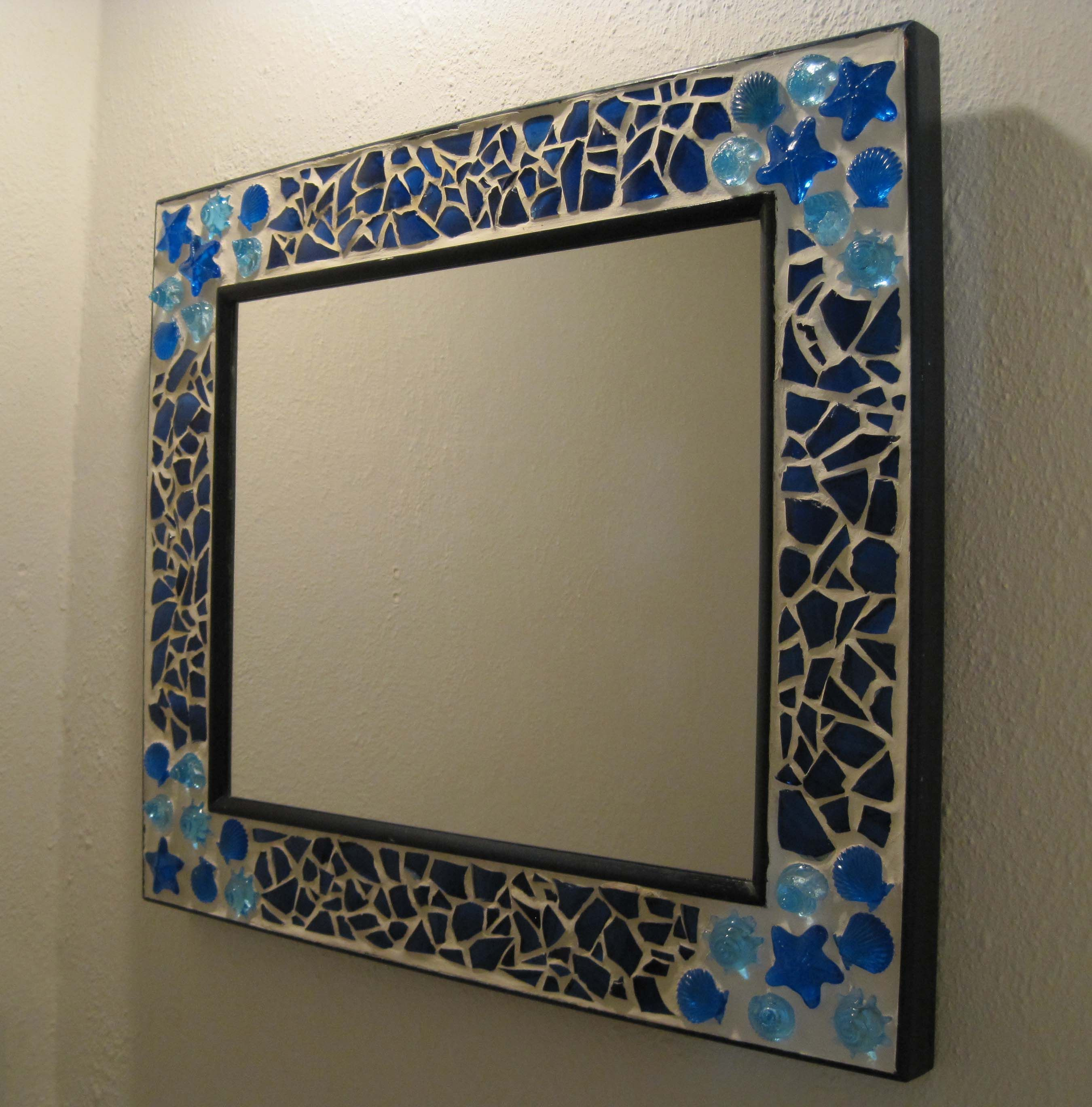 Spiegel Mosaik Mosaic Mirror And Clock | Mosaic Ideas And Patterns