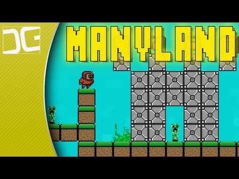 Manyland An Open World 2d Sandbox Creative Mmo Indie Game Spotlight Indie Games Mmo Sandbox