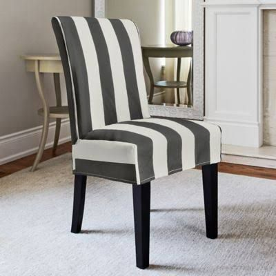Patterned Parson Chair Slipcovers Slipcovers For Chairs Dining