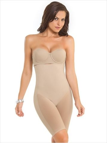 1ea5020b40 Leonisa Seamless Strapless Full Body Shaper  33.00 Perfect for use with  your favorite bra. Firm control with comfortable fabric.