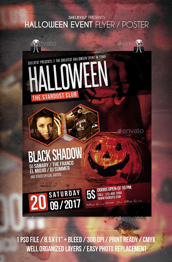 free halloween flyer templates word halloween flyer templates for ...