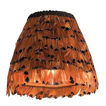 6 pheasant feather chandelier shade pheasant feathers chandelier 6 inch pheasant feather chandelier shade shades of light i could totally make a feather aloadofball Image collections