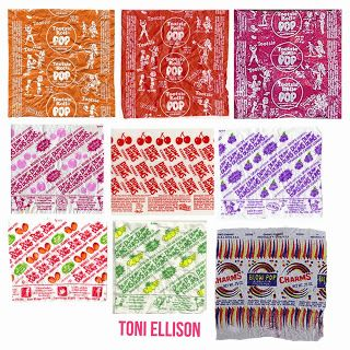 Toni Ellison Halloween Candy Wrapper Templates Mini Printables