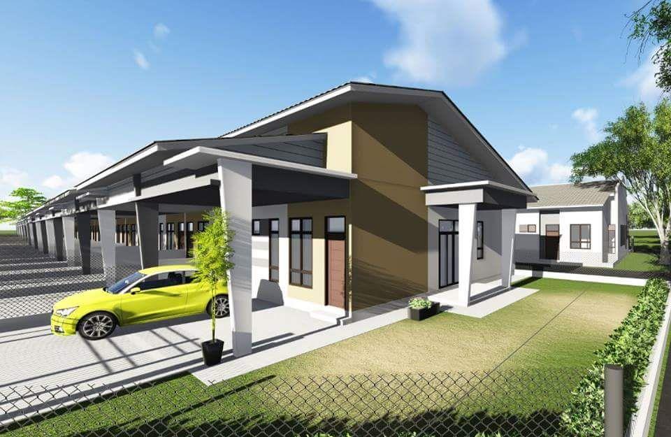 Rumah Teres Di Teong Kota Bharu