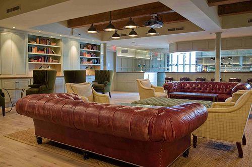 Soho house library room ideas