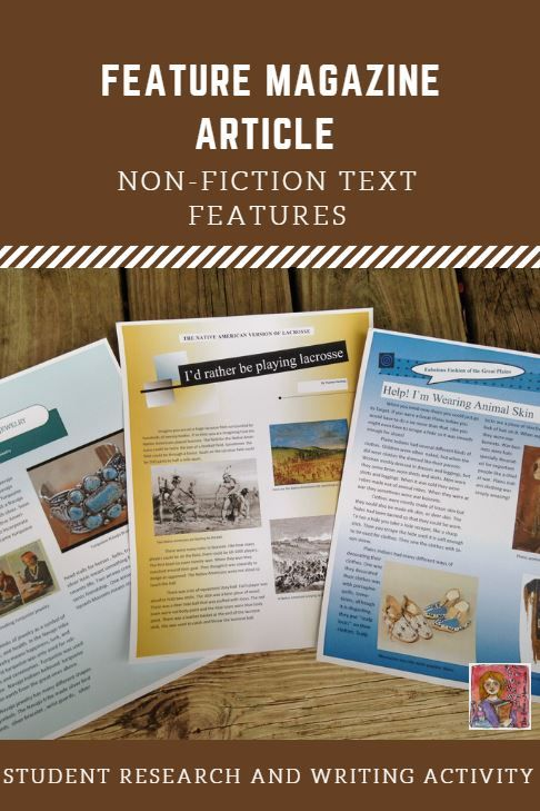 Feature article writing for students
