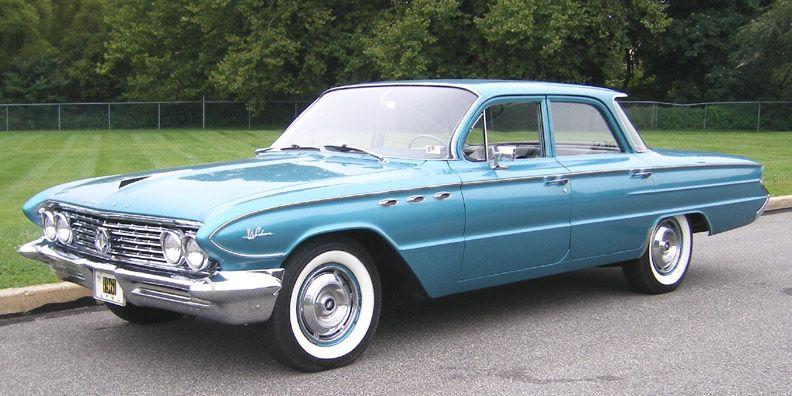 1961 Buick Lesabre 4 Door Sedan Buick Lesabre Vintage Muscle Cars Buick