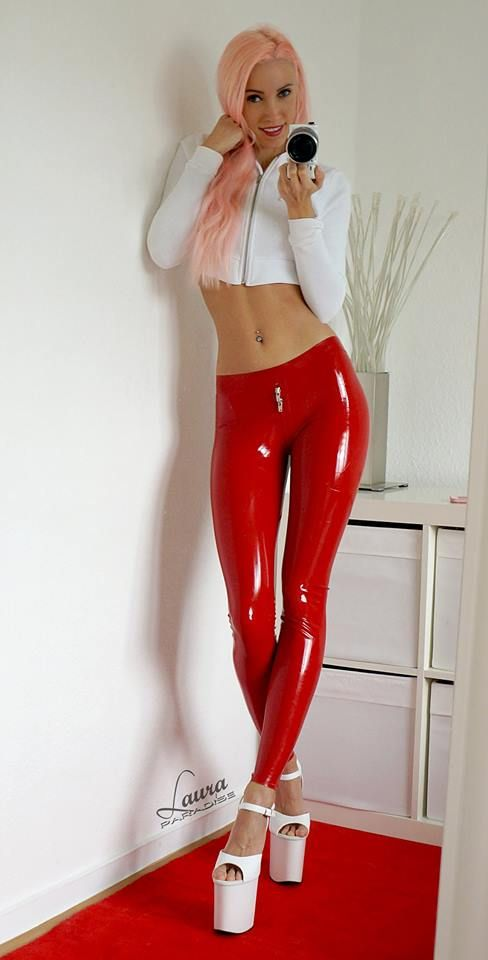 Girls in latex and heels