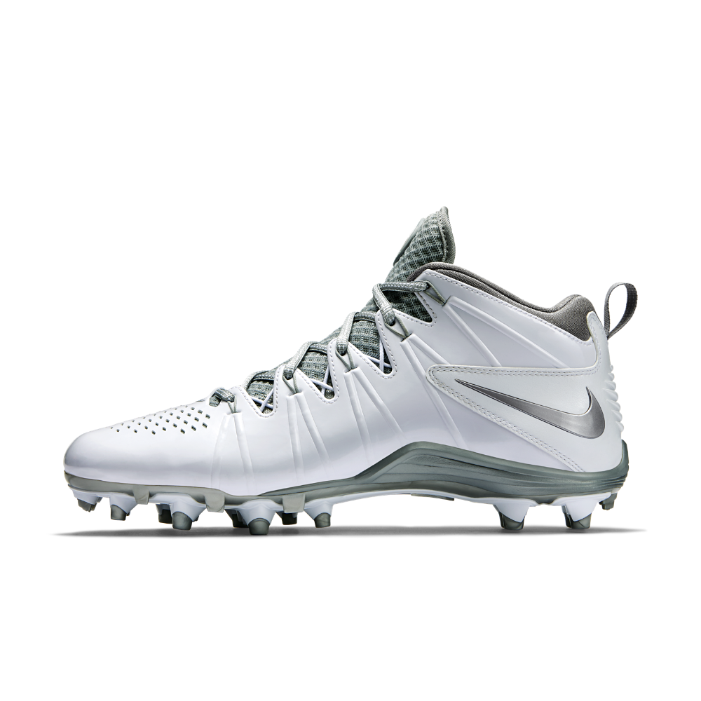 Nike Huarache 4 LX Men's Lacrosse Cleat Size 10.5 (White ...