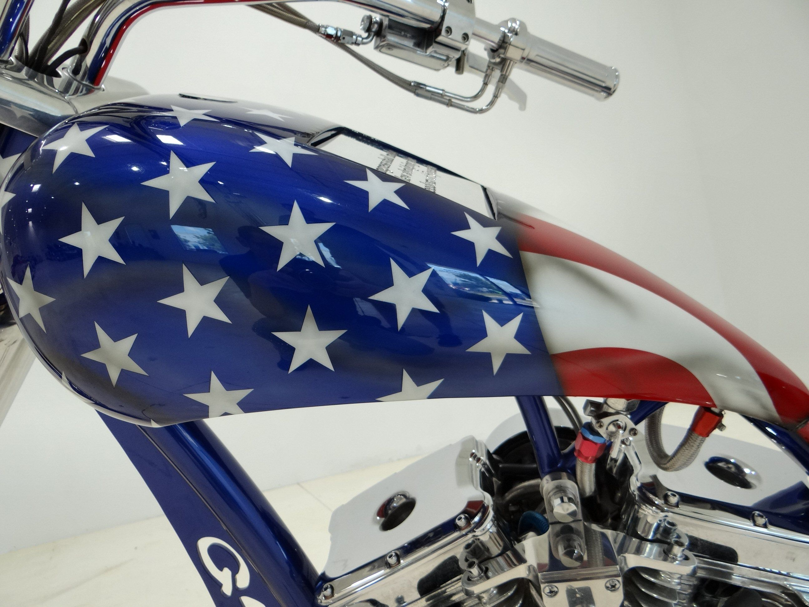 us flag paint jobs | 2004 Harley Davidson Force F-2