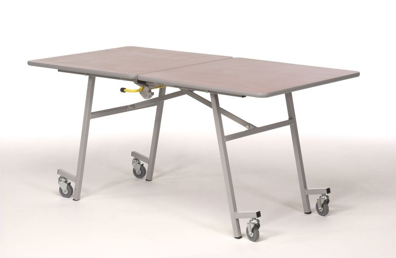 Lovely Folding Table With Wheels With Folding Table On Wheels Kc Designs Folding Table Folding Table Legs Table