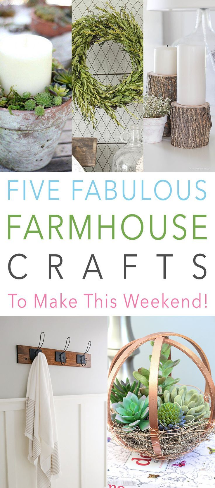 Five Fabulous Farmhouse Crafts To Make This Weekend