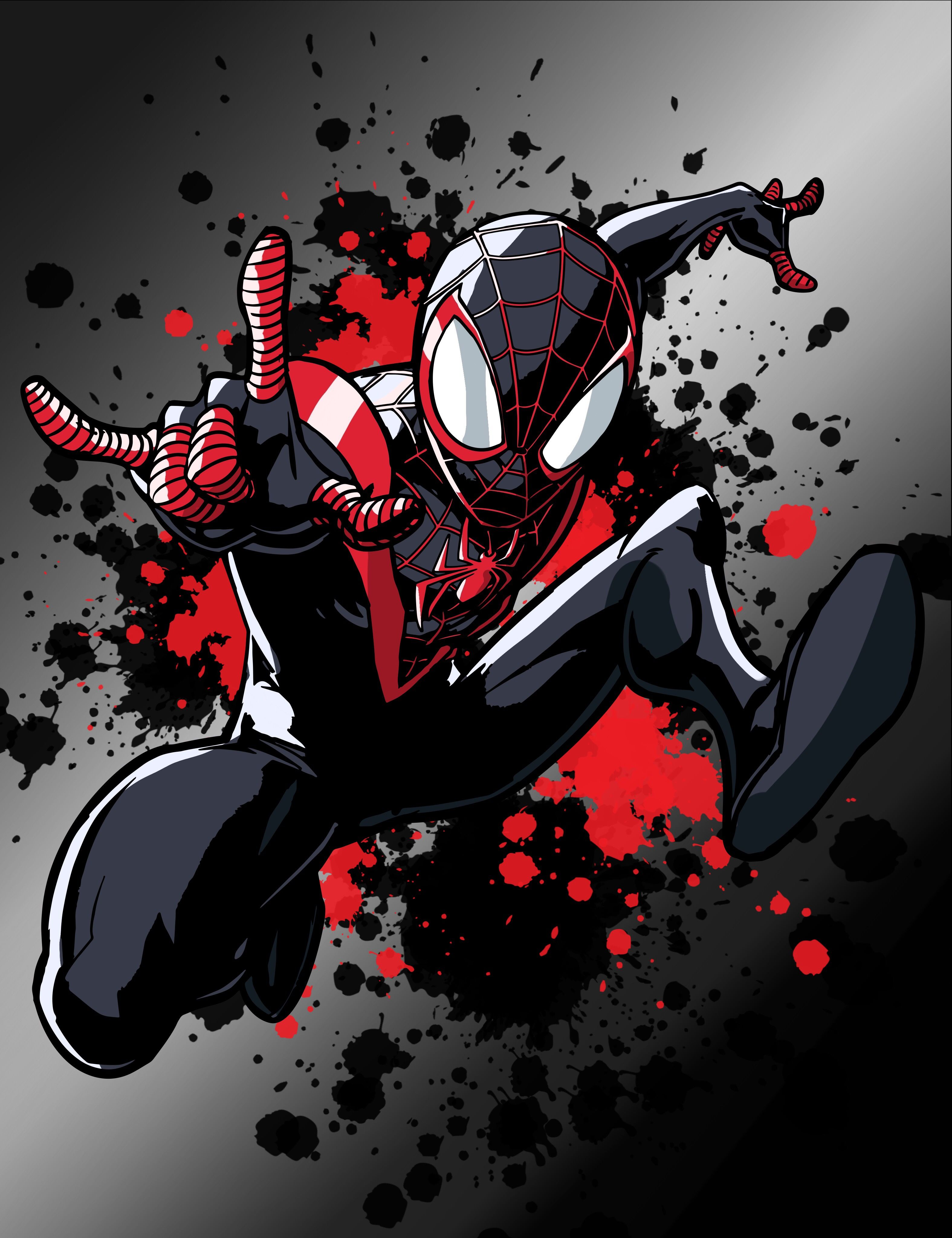 Miles Morales SpiderMan SpiderMan Into the Spider