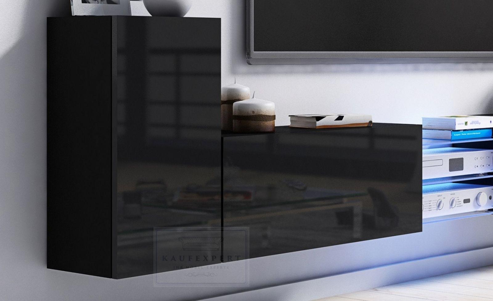 22 Begrenzt Lowboard Modern Tv Mobel Lowboard Wohnwand Schwarz Weiss Wohnzimmer Design