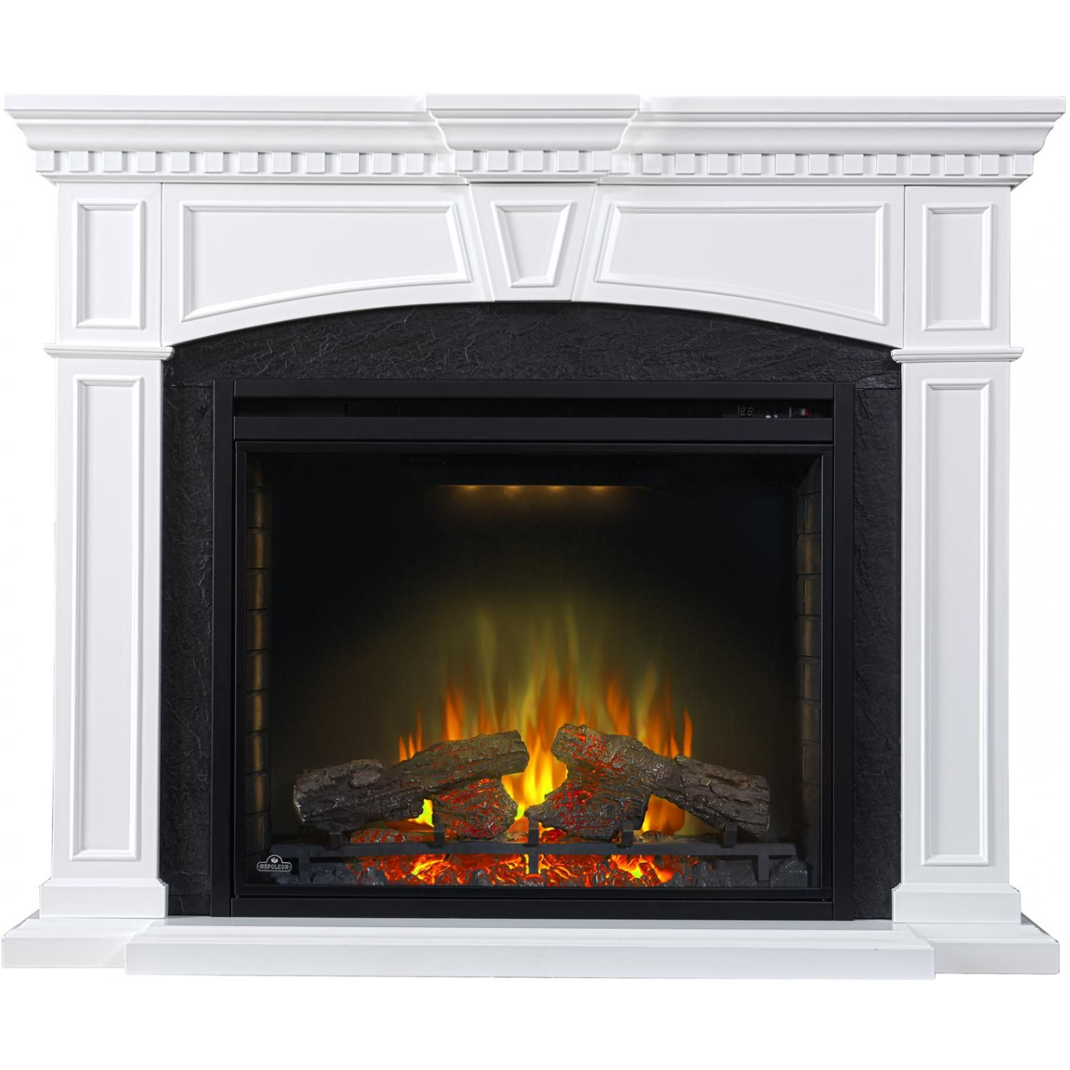 Napoleon Taylor 55 Inch Electric Fireplace Mantel Package With 33
