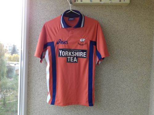 Yorkshire Jersey Cricket England Shirt County Vintage S Old Asics fnrxfBqSwW