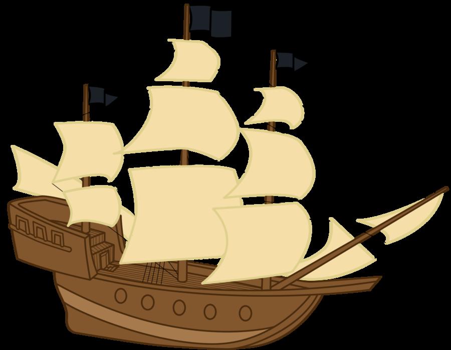 Http Fc01 Deviantart Net Fs71 I 2011 258 1 E Pirate Ship By Jaelachan D49yxv5 Png Cartoon Pirate Ship Pirate Ship Pirates