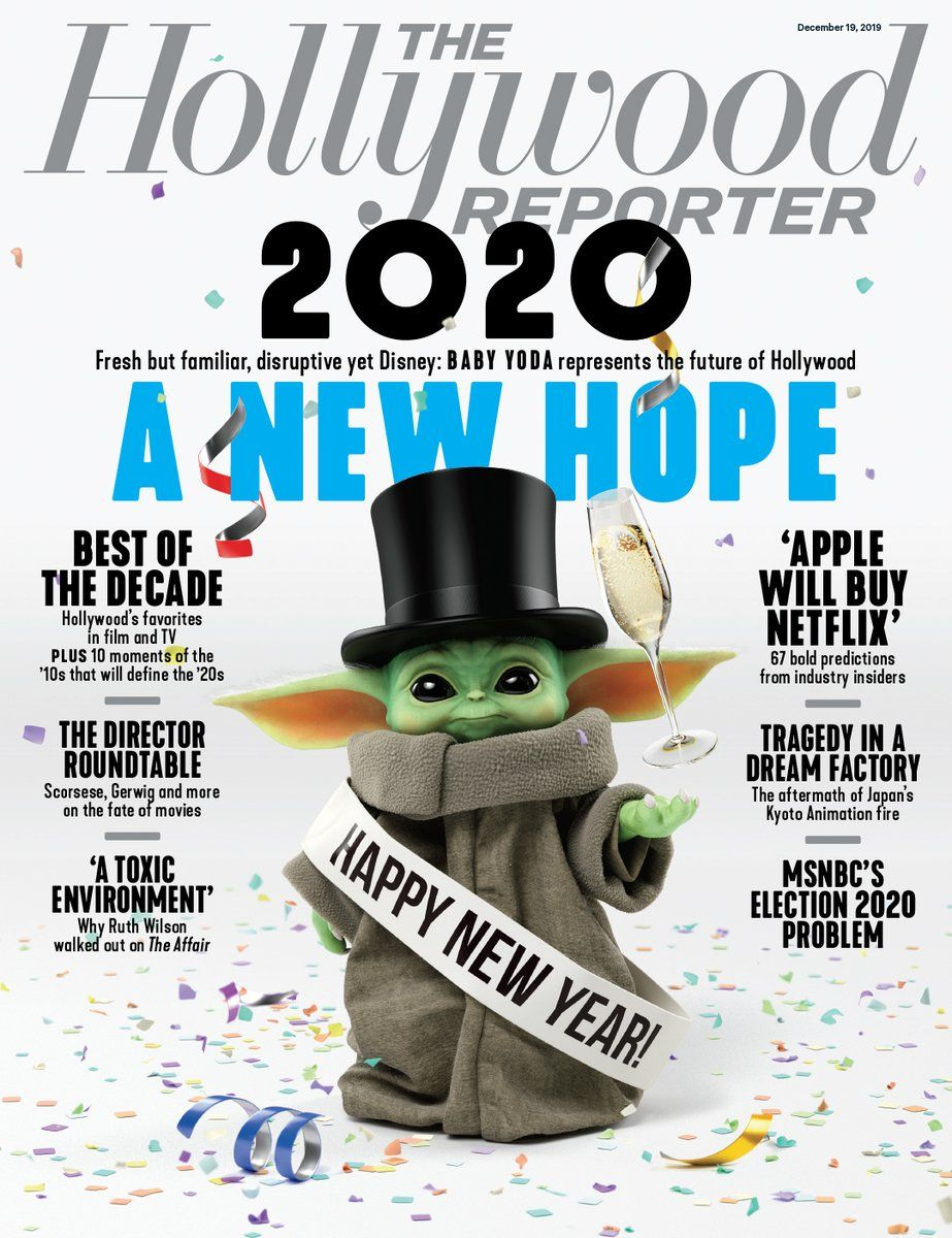 Image result for hollywood reporter baby yoda The
