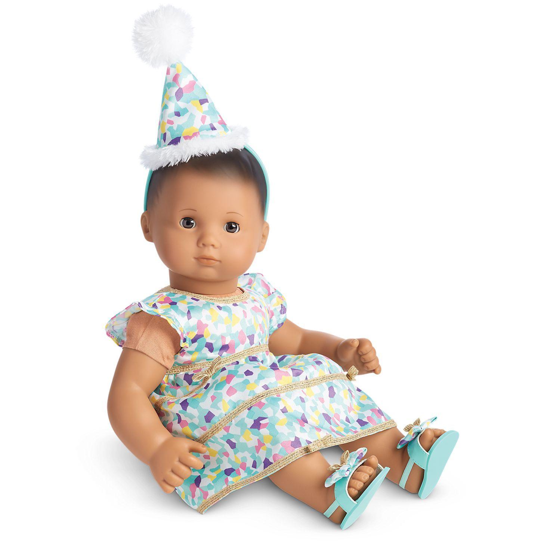 Confetti Cutie Dress for Bitty Baby Dolls American Girl