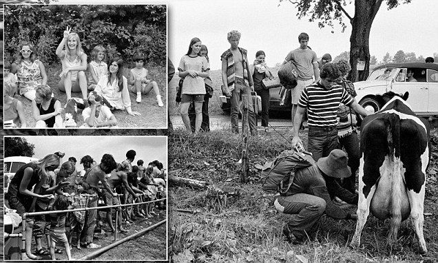 Woodstock 45 years on: Previously unseen photos ...
