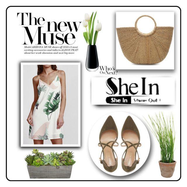 """shein"" by kmen-s ❤ liked on Polyvore featuring Roberto Vianni, LSA International and Esschert Design"