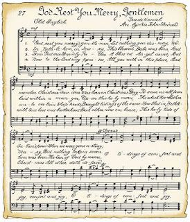 Christmas Music Downloadable.Downloadable Vintage Christmas Song Sheets For Wrapping Or