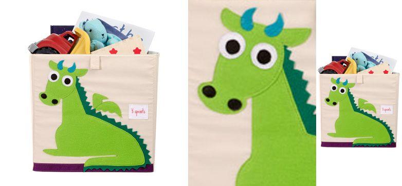 Aufbewahrungsbox Drachen aus der Kategorie Spielzeugaufbewahrung von Mamarella - Passend für IKEA Expedit