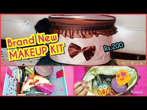 under rs200 😱 beginners makeup kit 😍 lakme makeup haul