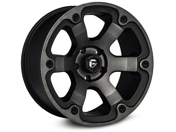 Fuel Wheels Wrangler Dark Tint Machined 6 Spoke Wheel D56418907345 (07-16 Wrangler JK) - Free Shipping
