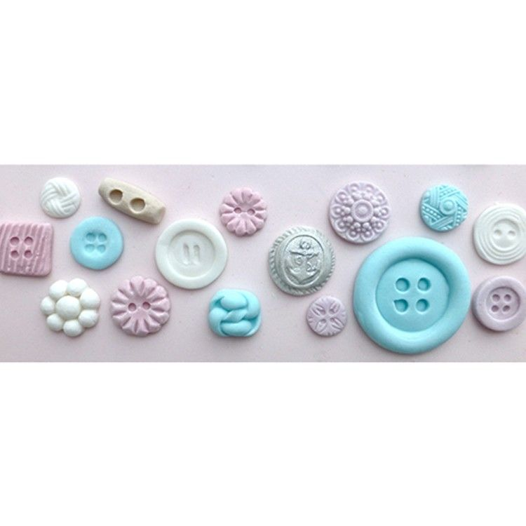 Assorted Button Mould By Karen Davies