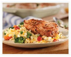 Easy Cheesy Pork Chop and Rice Casserole