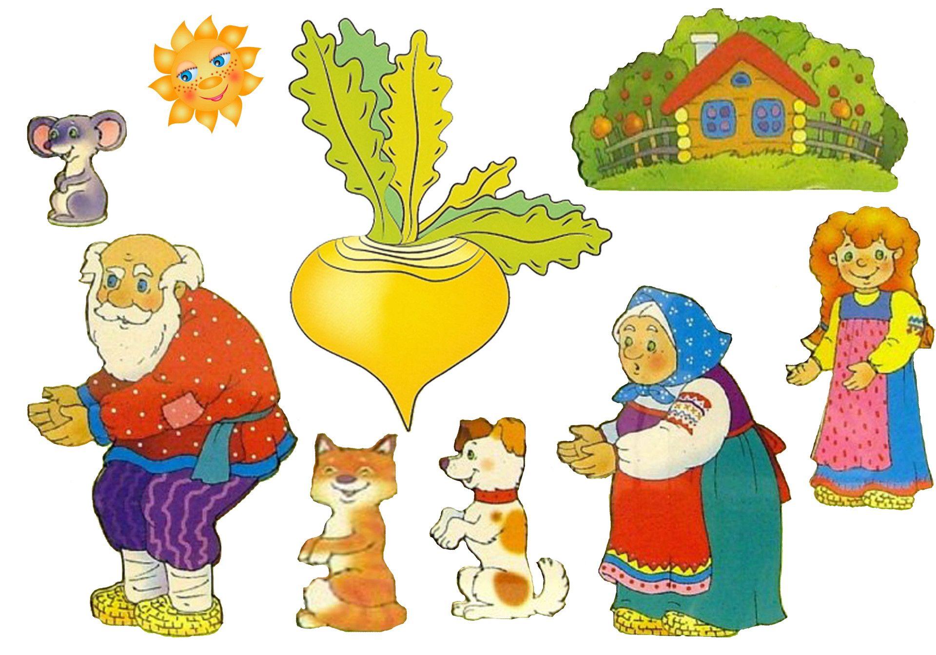 Иллюстрации из сказки своими руками