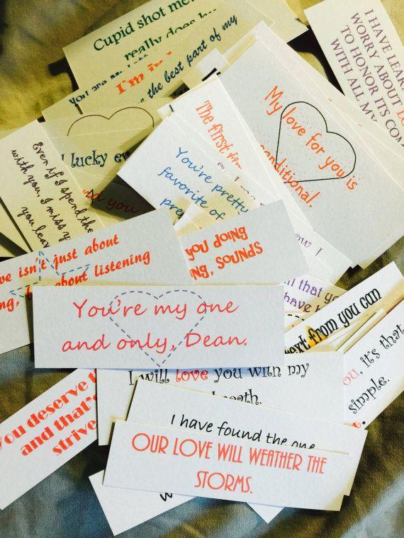 Jar Handwritten Notes For Your Friend Or Loved One The Idea - Boyfriend puts 365 love notes jar girlfriend read year