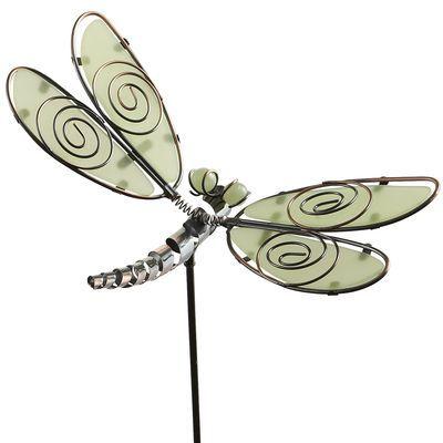 Glow in The Dark Dragonfly Garden Stake Gardens Pinterest