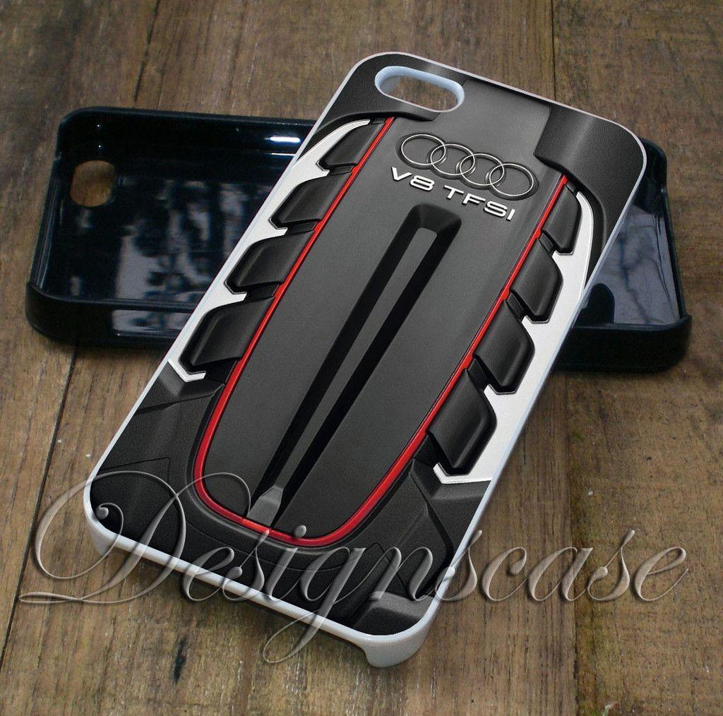 iPhone case Audi S6 Engine