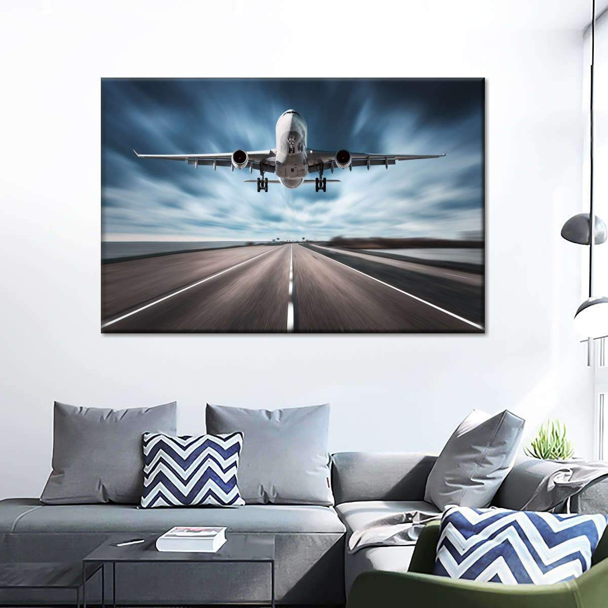 Swift Airplane Takeoff Multi Panel Canvas Wall Art In 2020 Canvas Wall Art Multi Panel Canvas Wall Art