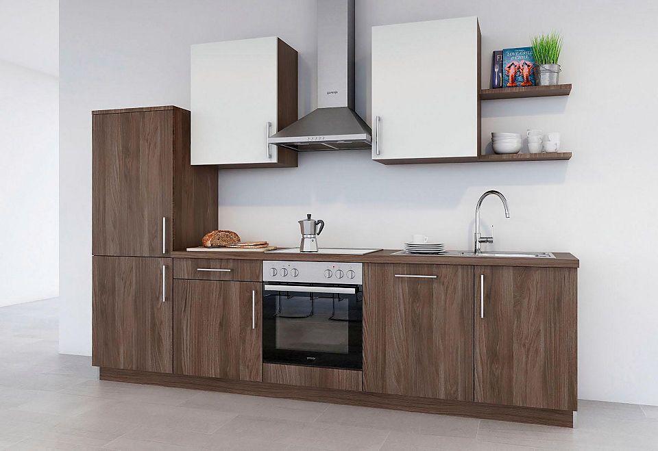 set one by Musterring Küchenzeile »Turin« ohne E-Geräte, Breite - küchenzeile 220 cm mit elektrogeräten